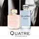 Boucheron(宝诗龙)品牌的Quatre女士香水和Quatre Pour Homme男士香水