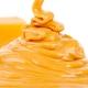渴望美食焦糖味: 可口甜味的漩涡
